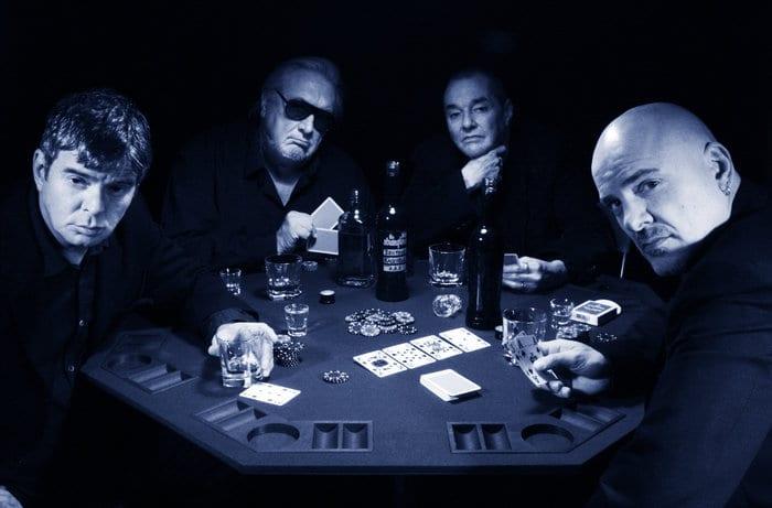 The Stranglers Poker Shoot 2010