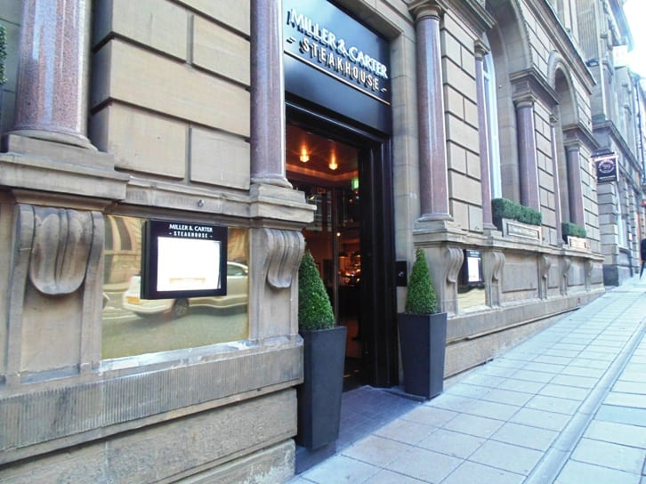 Miller & Carter raise their Steaks for Newcastle's City Centre I Love Newcastle