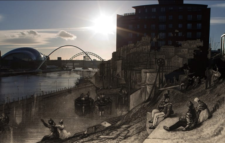 Newcastle Then And Now In Pictures I Love Newcastle