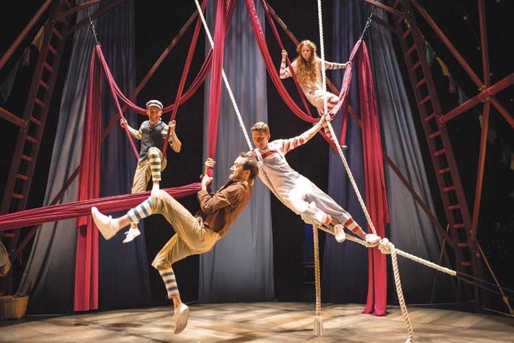 High-wire fun for Hetty Feather at Newcastle Theatre Royal I Love Newcastle