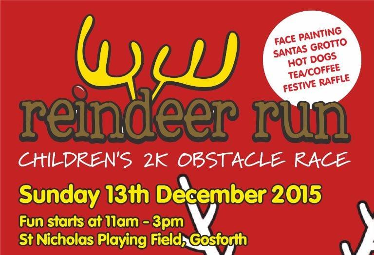 Newcastle Children's Charity hosts Reindeer Fun Run I Love Newcastle