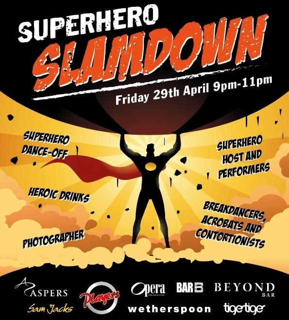 Superhero Slam Down At The Gate Newcastle! I Love Newcastle