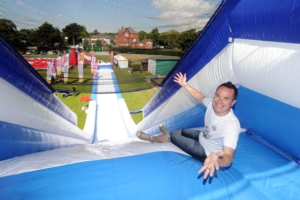 Europe's tallest inflatable slide returns to Newcastle I Love Newcastle