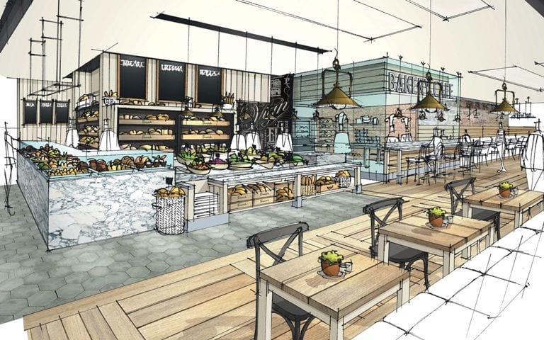 Fenwick Food Hall Puts The Icing On Its Cake I Love Newcastle