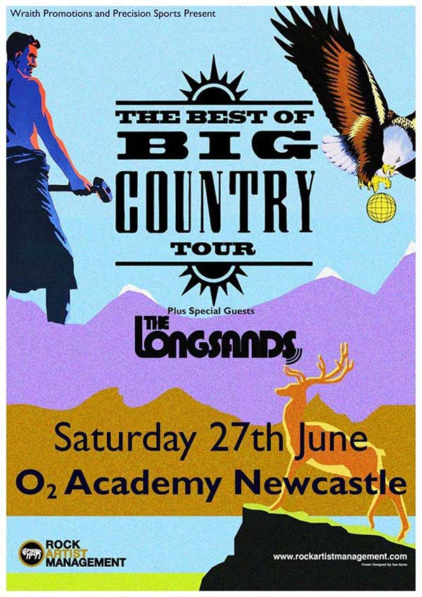 Big Country in the Big City I Love Newcastle