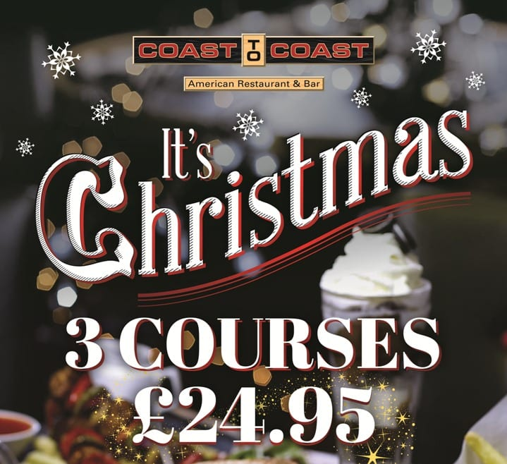 Book your Christmas party with Coast to Coast Newcastle I Love Newcastle