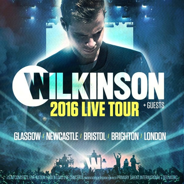 Wilkinson  2016 Live Tour Includes 02 Academy I Love Newcastle
