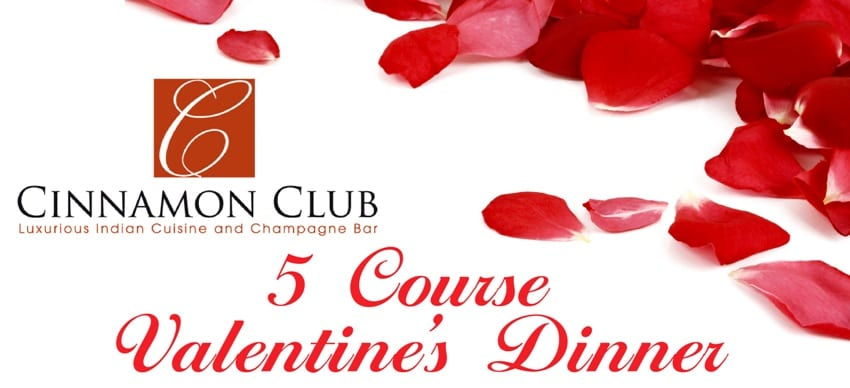 Cinnamon Club and Champagne Bar spice up Valentine's Day I Love Newcastle