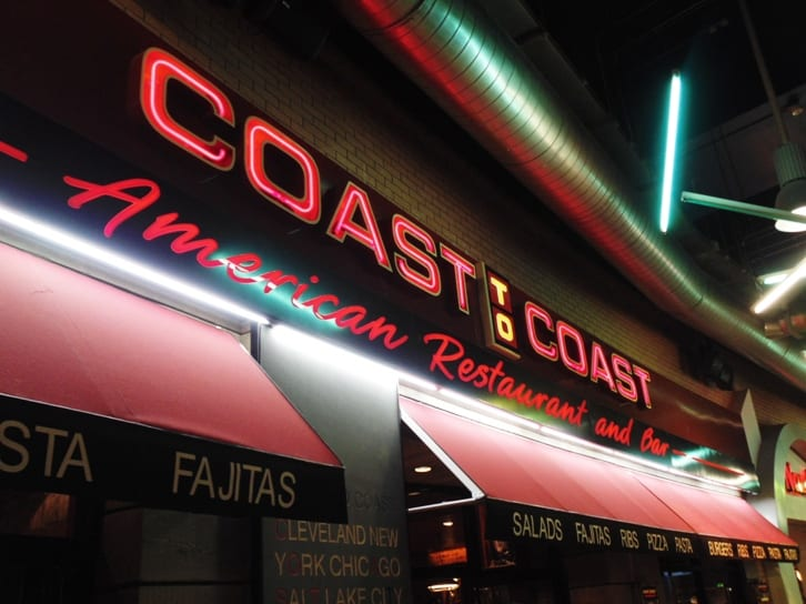 Coast to Coast - Not just a bar and restaurant, it's an all day event I Love Newcastle