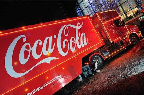 Holidays are coming! Coca-Cola Christmas Truck to stop in Gateshead I Love Newcastle