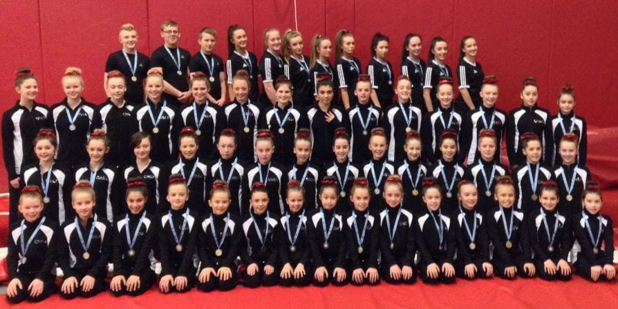 Newcastle Gymnasts sweep up at National competition I Love Newcastle