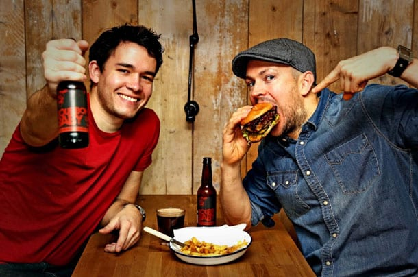 BrewDog and Honest Burgers mate to make BrewBurger I Love Newcastle
