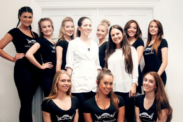 Miss Newcastle Contenders Get Expert Advice And Meet Geordie Shore Beauty I Love Newcastle