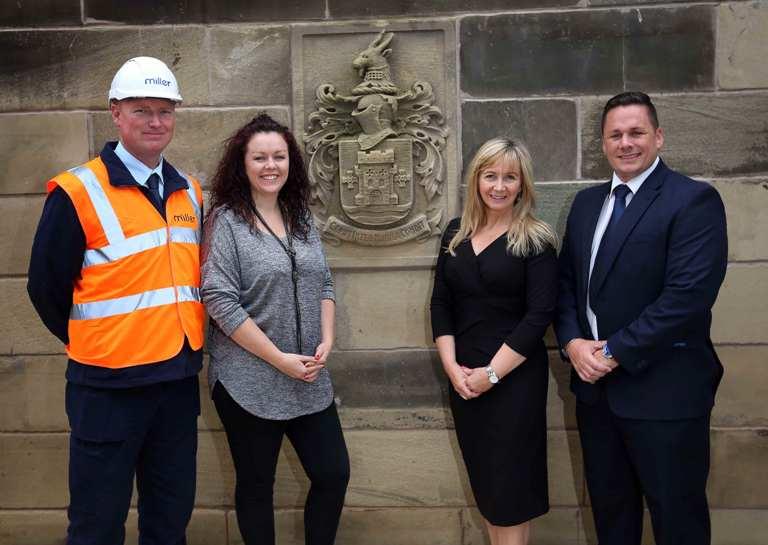 Gateshead College And Miller Homes Build Bridges I Love Newcastle