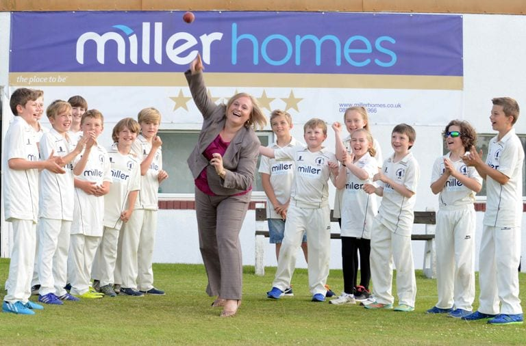 Gateshead Cricket Club bowled over by Miller Homes sponsorship I Love Newcastle