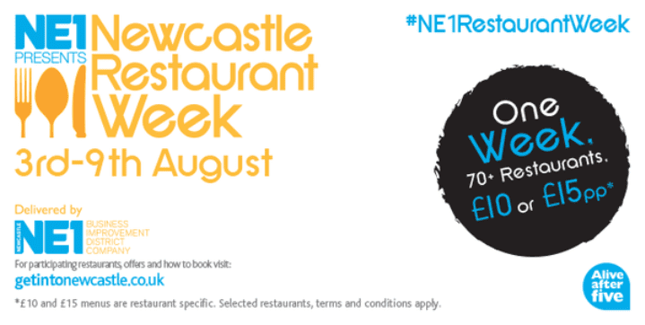 NE1 Newcastle Restaurant Week has a new International flavour I Love Newcastle