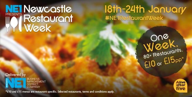 5th Anniversary For Ne1's Newcastle Restaurant Week I Love Newcastle