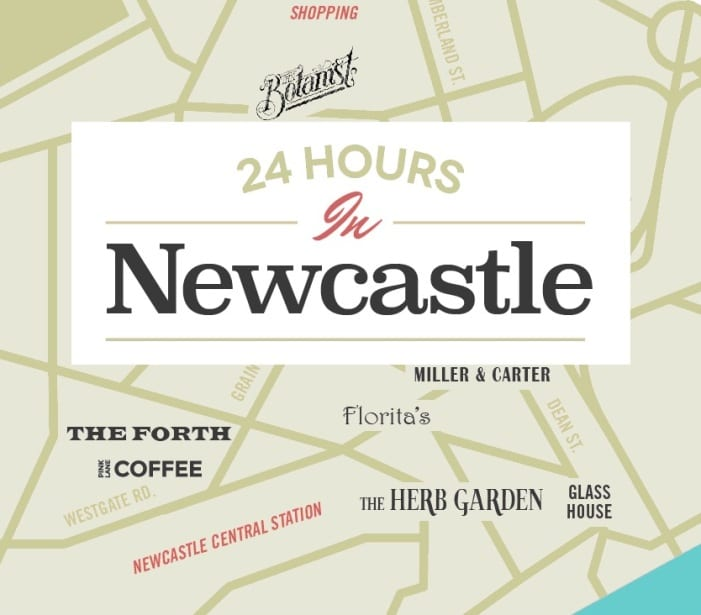 24 Hours in Newcastle I Love Newcastle