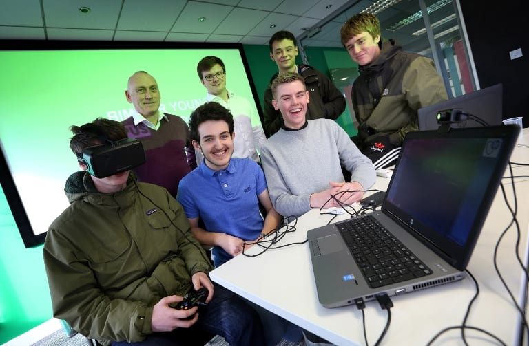 Newcastle College Young Talent Steps Into Virtual Reality I Love Newcastle