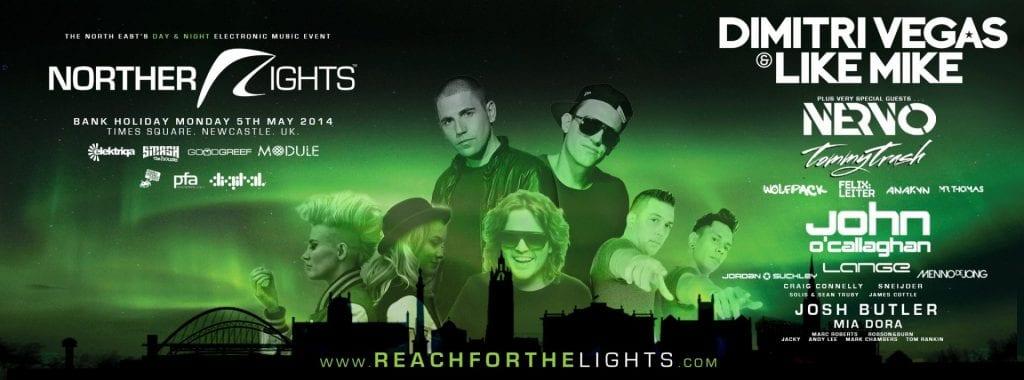 Northern Lights 2014 I Love Newcastle