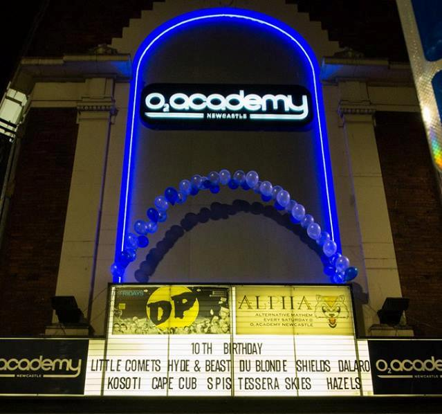 O2 Academy Newcastle celebrates 10 years in the city I Love Newcastle