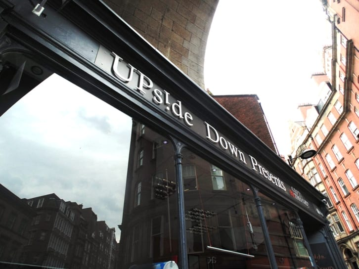 Upside Down Presents - the little shop with a big heart at Newcastle's Quayside I Love Newcastle