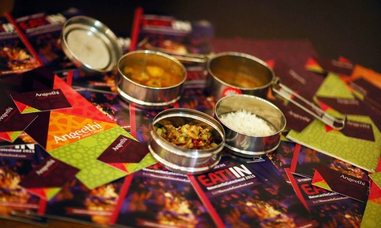 Sell-out Eat-along Movie spiced up by Angeethi I Love Newcastle