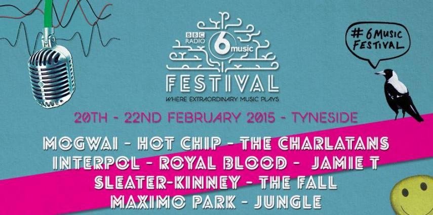 Newcastle to host The BBC Radio 6 Music Festival 2015 I Love Newcastle