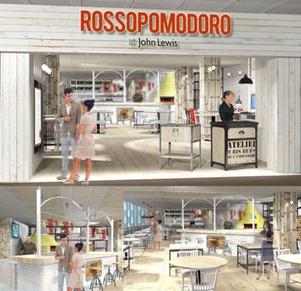 John Lewis welcomes Rossopomodoro I Love Newcastle
