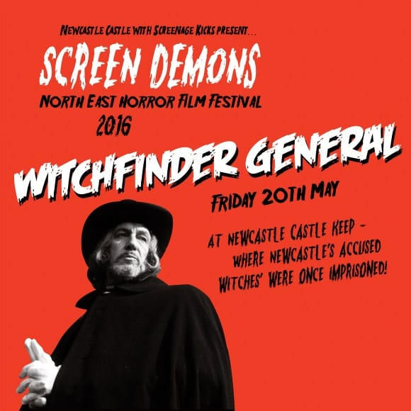 Screenage Kicks present Witchfinder General at Newcastle Castle I Love Newcastle