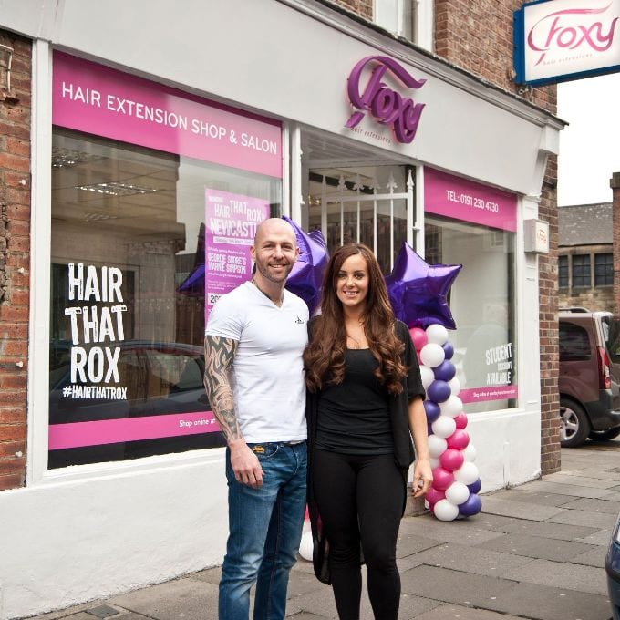 Foxy Hair Extensions extend their services I Love Newcastle