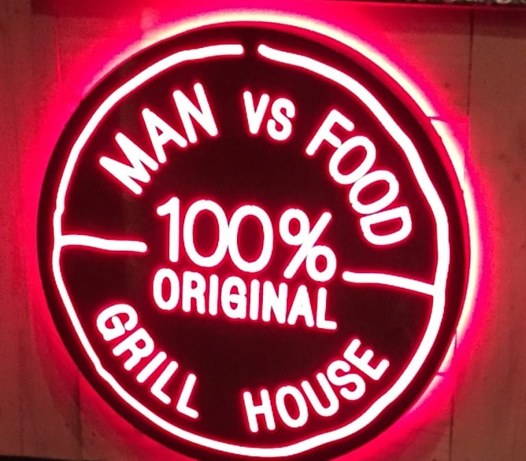 Man Vs Food Grillhouse Review I Love Newcastle