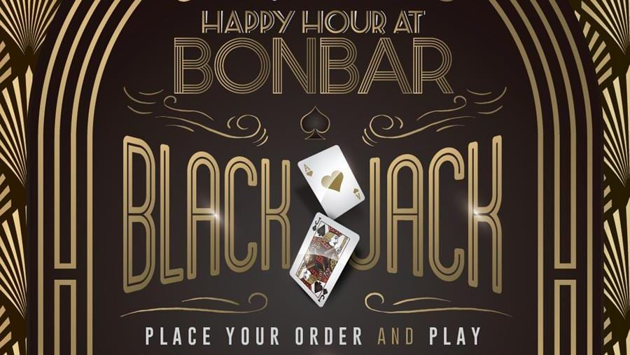 Beat the Dealer at Bonbar and receive free drinks I Love Newcastle
