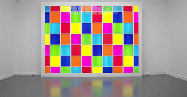 Colours Incorporated- Daniel Buren works exhibited at the Baltic I Love Newcastle