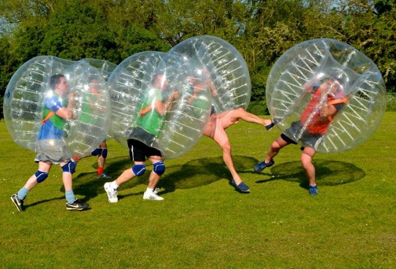 Play Bubble Football in Newcastle from £120.00 I Love Newcastle