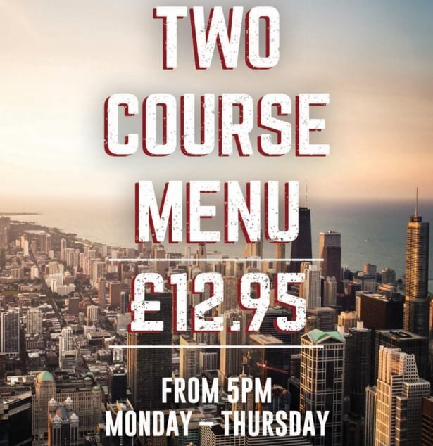 Enjoy Two Courses For Only £12.95 At Coast To Coast Newcastle I Love Newcastle