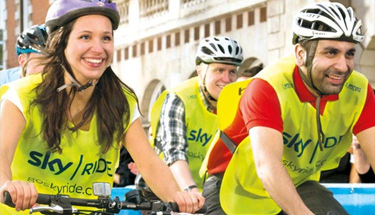 Join in with Sky Ride Newcastle Gateshead I Love Newcastle