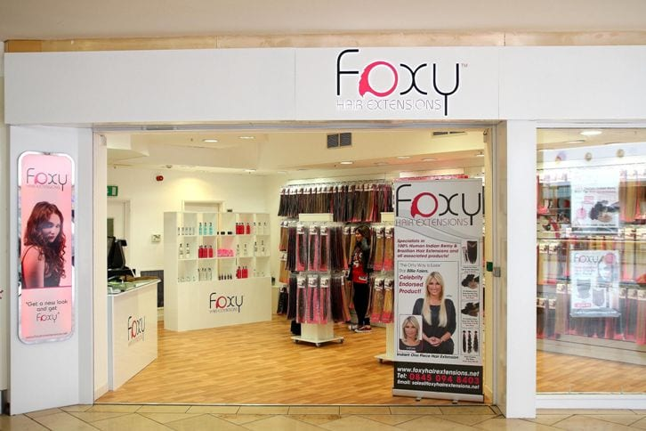 Foxy rocking into new store... I Love Newcastle