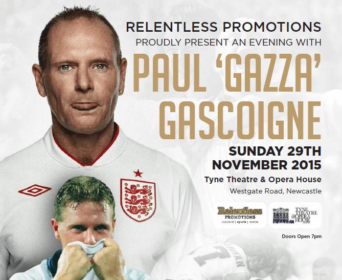 Gazza is Coming Home Newcastle I Love Newcastle