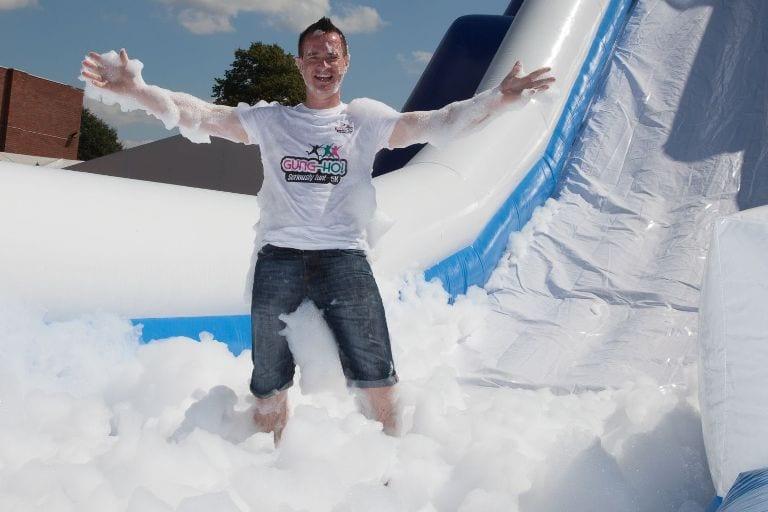 Revealed - Europe's largest inflatable slide I Love Newcastle