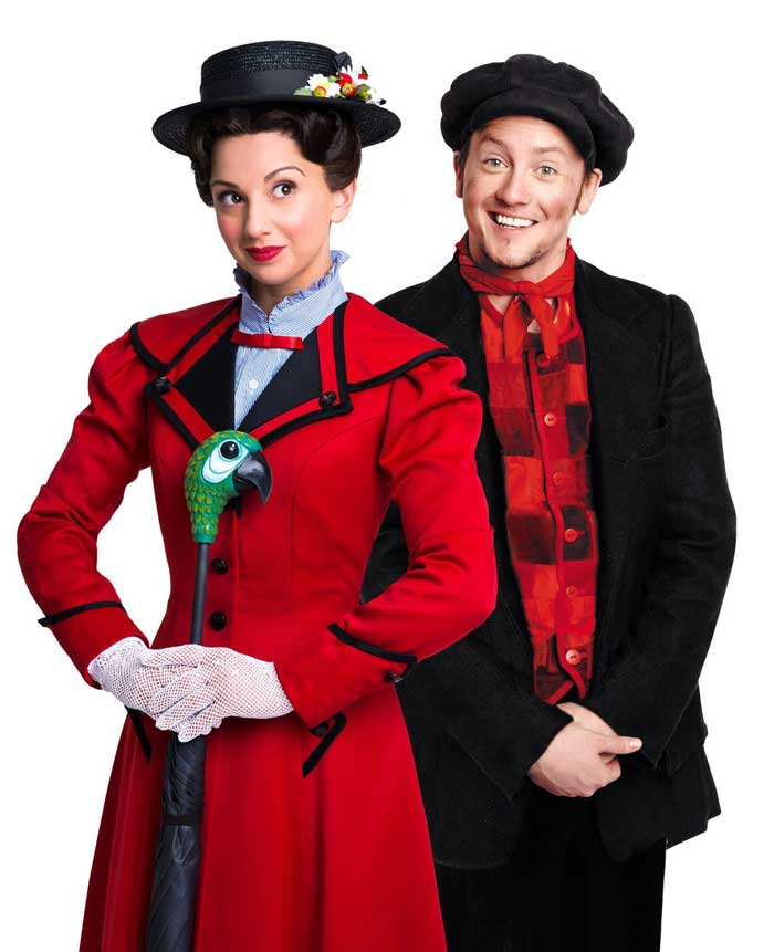 Musical Theatre stars announced for Mary Poppins I Love Newcastle