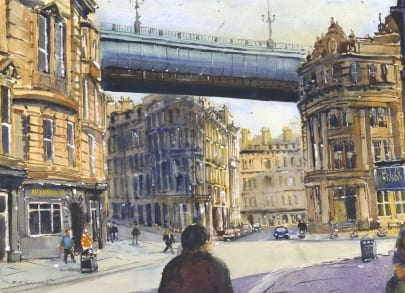 Around The Toon IN 20 Paintings I Love Newcastle