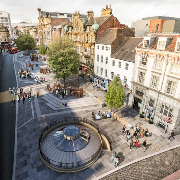 Ne1 Unveils Plans For Bigg Market Rejuvenation I Love Newcastle