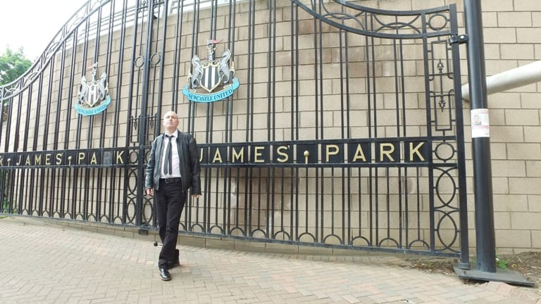 Brian gives Newcastle fans hope with Tune Army I Love Newcastle