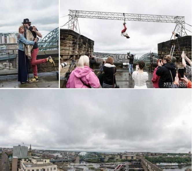 Geordie Magician Triumphs In Latest Daredevil Escapology Stunt I Love Newcastle