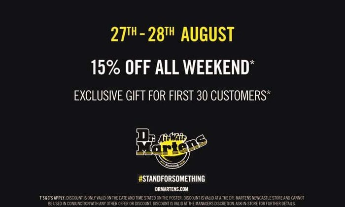 Dr. Martens Newcastle Back To School Shopping Weekend I Love Newcastle