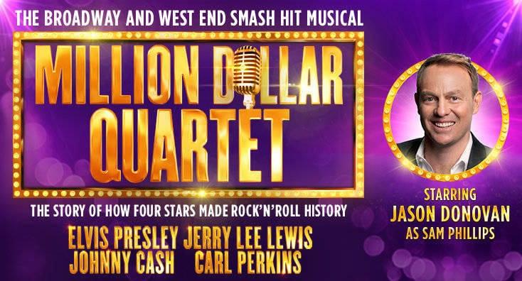 Jason Donovan To Play In Smash Hit 'The Million Dollar Quartet' At Newcastle Theatre Royal I Love Newcastle