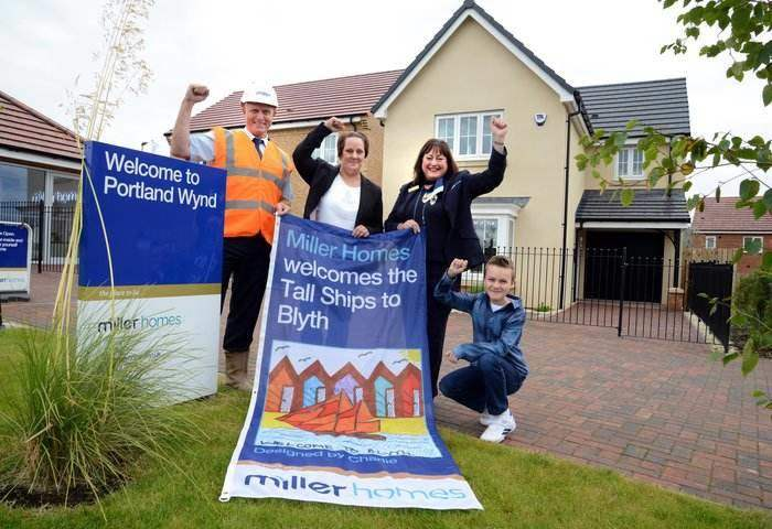 North East Youngster Helps Leading Housebuilder Welcome Tall Ships Regatta I Love Newcastle