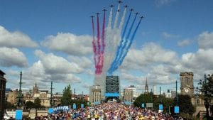 Do the Great North Run with Pride and get expert fitness and nutritional support I Love Newcastle