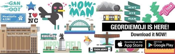 Geordiemojis Are Here! I Love Newcastle